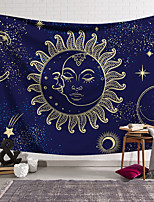 cheap -Tarot Divination Wall Tapestry Art Decor Blanket Curtain Hanging Home Bedroom Living Room Decoration Bohemian Mysterious Sun Moon