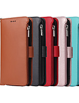 cheap -Case For Huawei HUAWEI P40 / HUAWEI P40 Pro / HUAWEI P40 Pro+ Shockproof Full Body Cases Solid Colored PU Leather