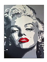 cheap -100% Hand-Painted Contemporary Art Oil Painting On Canvas Modern Paintings Home Interior Decor Monroe Portrait Art Painting Large Canvas Art(Rolled Canvas without Frame)