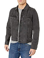 cheap -men's vaughn trucker jacket, smudge, l