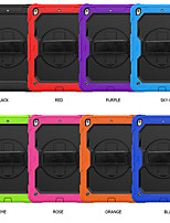 cheap -Case For Samsung Galaxy Galaxy Tab A 10.5 T595 T590 Shockproof Full Body Cases Solid Colored Silicone / PC