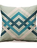 cheap -Northern Europe Fashion Geometry Cotton Linen Pillow Case Cover Living Room Bedroom Sofa Cushion Cover Modern Sample Room Cushion Cover