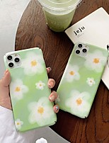 cheap -Case For Apple iPhone 11 / iPhone XR / iPhone 11 Pro Pattern Back Cover Flower PC