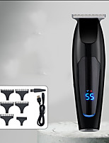 cheap -NK-2582 Gradient LCD Digital Display Rechargeable Hair Clipper Retro Oil Head eElectric Clipper Powerful Electric Clipper for Hair Salon