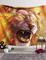 cheap -Wall Tapestry Art Decor Blanket Curtain Hanging Home Bedroom Living Room Decoration Polyester Mighty Lion