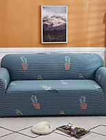 cheap -Cactus Print 1-Piece Sofa Cover Couch Cover Furniture Protector Soft Stretch Slipcover Spandex Jacquard Fabric Super Fit for 1~4 Cushion Couch and L Shape Sofa,Easy to Install(1 Free Cushion Cover)