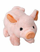 cheap -electronic pet plush pigy electric simulation children's toy pig, wiggling, snorting, oinking, kids brithday gift