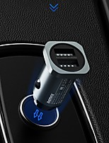 cheap -Remax Fast Charge Car Charger Mobile Phone Charger Dorset Dual USB Car Charger 2.4A RCC-226