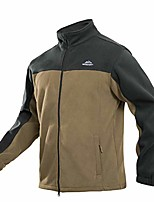 cheap -winter jackets for men with zipper pockets polar fleece jacket performance full-zip jacket casual jacket work jacket for men hiking jackets