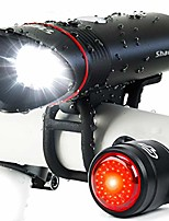 cheap -shark 500 usb rechargeable bike light set, 500 lumens, quick release