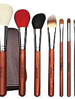 cheap -20pcs Makeup Brushes Set Professional Animal Hair Cosmetics Cooper Ferrule Make Up Brush Set