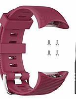 cheap -tencloud straps compatible with garmin forerunner 45/45s/swim 2 strap, sport silicone wristband arm band replacement bracelet for forerunner 45/45s smartwatch (red)