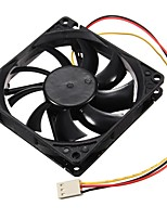 cheap -3 Pin 120x120x25mm CPU Fan Cooler Radiator Fan Computer PC