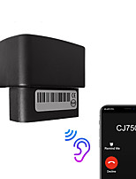 cheap -Mini OBD Voice Monitor GPS Tracker Car GSM Vehicle Tracking Device gps locator Software APP IOS Andriod No OBD2 scan detection