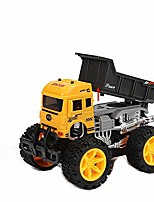 cheap -friction car construction toys, mini construction vehicles toy, toys vehicles truck mini car toy for kids toddlers truck (dump truck)