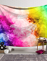 cheap -Wall Tapestry Art Deco Blanket Curtain Hanging Home Bedroom Living Room Dormitory Decoration Polyester Fiber Color Smoke