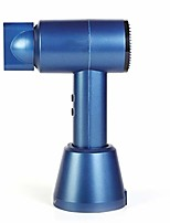 cheap -hair dryer cordless portable wireless blow dryer, hot and cold wind 6 speeds, fast charge strong 300w power barber salon styling tools automatic hair care,blue