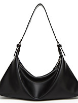 cheap -Women's Bags PU Leather Tote Tassel Solid Color Tote Daily Office & Career White Black Almond