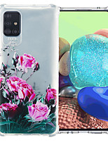 cheap -Case For Samsung Galaxy S20 Plus / S20 / Galaxy A41 Shockproof Back Cover Flower TPU
