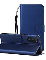 cheap -Case For Nokia 9 PureView / Nokia 8 / Nokia 8 Sirocco Shockproof Full Body Cases Solid Colored PU Leather / TPU