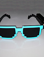 cheap -New High-brightness Wireless Mosaic Luminous Glasses Bar Supplies Party Business Gifts