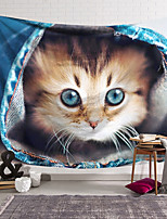 cheap -Wall Tapestry Art Decor Blanket Curtain Hanging Home Bedroom Living Room Decoration Polyester Pocket Cat