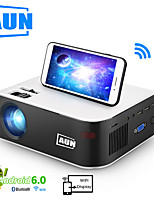cheap -AUN W18 480P projector home theater supporting 1080P video playback