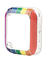 cheap -Cases For Apple Watch Series 6 / SE / 5/4 44mm / Apple Watch Series 6 / SE / 5/4 40mm / Apple Watch Series 3/2/1 38mm 42mm Rubber Compatibility Apple