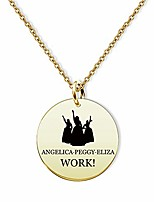cheap -gold schuyler sisters necklace angellca peggy eliza jewelry hamilton schuyler sisters gift(gold angellca peggy eliza nl