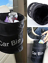 cheap -Fashion Wastebasket Trash Can Litter Container Car Auto Garbage Bin/Bag Waste Bins Household Cleaning Tools Accessories