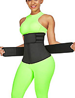 cheap -women's waist cincher neoprene double belts with detachable straps 7 steel boned waist trainer with zipper atrous 4xl