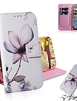 cheap -Case For Nokia Nokia 9 PureView / Nokia 4.2 / Nokia 3.2 Shockproof Full Body Cases Flower PU Leather / TPU