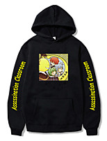 cheap -Inspired by Assassination Classroom Korosensei Cosplay Costume Hoodie Polyester / Cotton Blend Graphic Prints Printing Hoodie For Men's / Women's