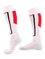 cheap -Men's Women's Boys and Girls Ski Socks 1 Pair Winter Softness Heat Retaining Socks Patchwork Elastane Ski / Snowboard