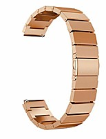 cheap -compatible for huawei honor s1 smartwatch, wrist watch band - delicate fashion stainless steel strap replacement watchband wristwatch band