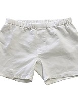 cheap -100% linen boxer shorts white, small