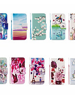 cheap -Case For Apple iPhone 12 / iPhone 11 / iPhone 12 Pro Max Wallet / Card Holder Full Body Cases Cartoon PU Leather