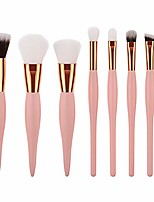 cheap -8pcs wooden foundation cosmetic eyebrow eyeshadow brush makeup brush sets tools