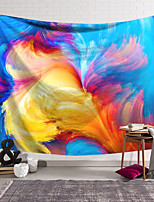 cheap -Wall Tapestry Art Decor Blanket Curtain Hanging Home Bedroom Living Room Decoration Polyester Fiber Color Line Dancing