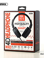 cheap -REMAX rm-805 Wired In-ear Earphone 3.5mm Audio Jack InLine Control PC Computer