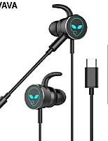 cheap -wired earphones headsets gamer ear-type-c anvava-gaming detachable bass-stereo hifi