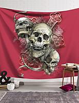 cheap -Wall Tapestry Art Decor Blanket Curtain Hanging Home Bedroom Living Room Decoration Polyester Fiber Still Life Spooky Skull Cross