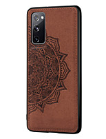 cheap -Case For Samsung Galaxy J6 Plus / J4 Plus Shockproof / Embossed Back Cover Solid Colored TPU / PC
