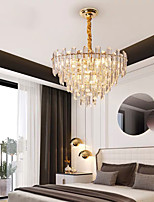 cheap -47 cm Crystal Chandelier Modern Luxury Pendant Light Gold Stainless Steel Electroplated 110-120V 220-240V