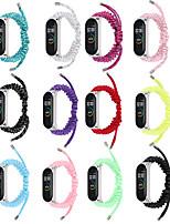 cheap -Watch Band for Mi Band 3 / Xiaomi Mi Band 4 / Xiaomi Band 5 Xiaomi Sport Band Nylon Wrist Strap