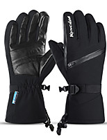 cheap -Winter Bike Gloves / Cycling Gloves Touch Gloves Anti-Slip Waterproof Warm Winter Sports Full Finger Gloves Sports Gloves Black Grey for Adults' Outdoor Exercise Cycling / Bike