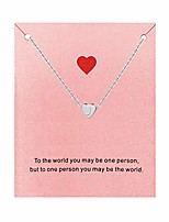 cheap -heart initial necklace for women, tiny silver alphabet letter necklace personalized jewelry gifts (j)