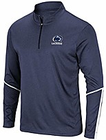 cheap -penn state collegiate lacrosse 1/4 zip - adult (small) navy