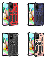 cheap -Case For Samsung Galaxy S20 Plus / S20 Ultra / Galaxy S10 Shockproof Back Cover Geometric Pattern TPU / PC