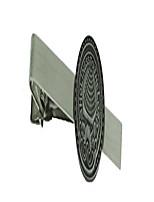 cheap -salt lake city temple doorknob - tie bar (silver tone)